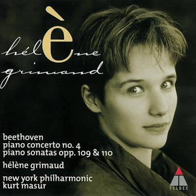 「ベートーヴェン:ピアノ協奏曲第4番ほか」エレーヌ・グリモー、マズア&ニューヨーク・フィル