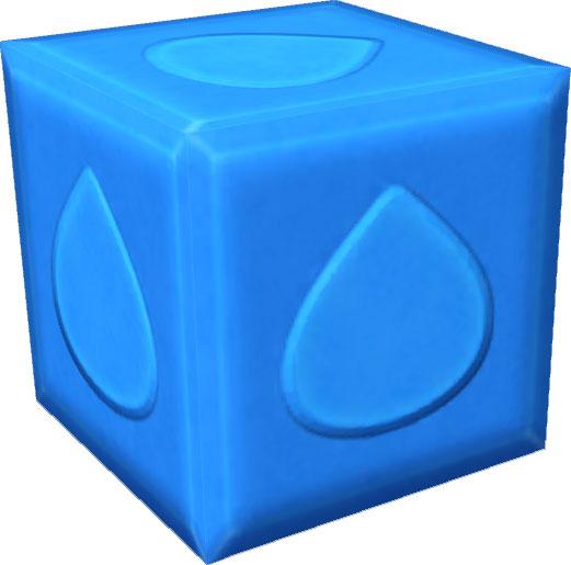 ローソン限定先行特典「紋章ブロック・水」のレシピ限定先行入手