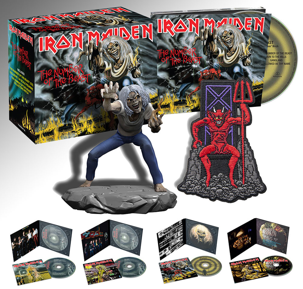 THE NUMBER OF THE BEAST COLLECTORS BOX