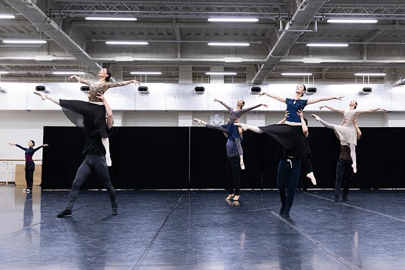 東京バレエ団「スプリング・アンド・フォール」公開リハーサル
