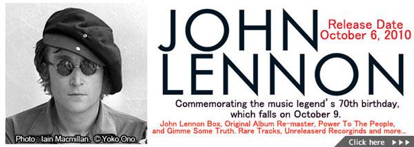 John Lennon Anniversary Year