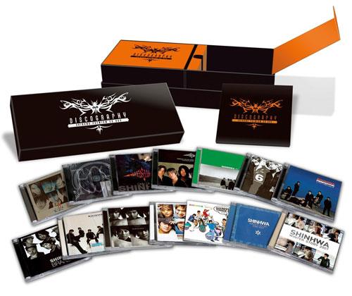 「DISCOGRAPHY 〜SHINHWA PREMIUM CD BOX〜」